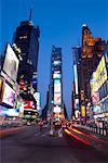 Times Square, New York City, New York, USA    Stock Photo - Premium Rights-Managed, Artist: Michael Mahovlich, Code: 700-01014567