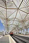 Gare do Oriente, Parque das Nacoes, Lisbon, Portugal    Stock Photo - Premium Rights-Managed, Artist: Graham French, Code: 700-01029951