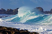 Waves, North Shore, Oahu, Hawaii    Stock Photo - Premium Royalty-Freenull, Code: 600-01030162