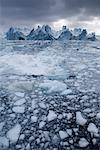 Icebergs, Arctic Circle, Greenland    Stock Photo - Premium Rights-Managed, Artist: JW, Code: 700-01036708