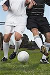 Men Playing Soccer    Stock Photo - Premium Royalty-Free, Artist: John Lee, Code: 600-01037267