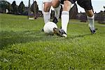 Men Playing Soccer    Stock Photo - Premium Royalty-Free, Artist: John Lee, Code: 600-01037268