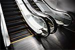 Escalators    Stock Photo - Premium Rights-Managed, Artist: Arian Camilleri, Code: 700-01037209