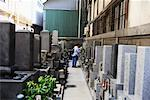 Woman at Gravesite, Japan Stock Photo - Premium Rights-Managed, Artist: Arian Camilleri, Code: 700-01037222