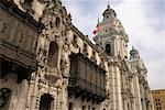 Palacio Episcopal, Plaza de Armas, Lima, Peru    Stock Photo - Premium Rights-Managed, Artist: Gail Mooney, Code: 700-01037255