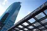 Potsdamerplatz Bahnhof and Sony Center, Berlin, Germany    Stock Photo - Premium Rights-Managed, Artist: Damir Frkovic, Code: 700-01037403