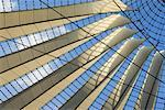 Close-up of Sony Center Ceiling, Potsdamerplatz, Berlin, Germany    Stock Photo - Premium Rights-Managed, Artist: Damir Frkovic, Code: 700-01037409