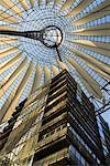 Sony Center Atrium, Potsdamerplatz, Berlin, Germany    Stock Photo - Premium Rights-Managed, Artist: Damir Frkovic, Code: 700-01037411