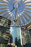 Sony Center Atrium, Potsdamerplatz, Berlin, Germany    Stock Photo - Premium Rights-Managed, Artist: Damir Frkovic, Code: 700-01037412