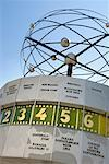 World Time Clock, Alexanderplatz, Berlin, Germany    Stock Photo - Premium Rights-Managed, Artist: Damir Frkovic, Code: 700-01037415