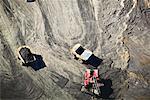 Trucks at Syncrude Oil Sands Plant, Alberta, Canada