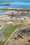 Syncrude Canada Ltd's Mildred Lake Plant, Alberta, Canada    Stock Photo - Premium Rights-Managed, Artist: Boden/Ledingham, Code: 700-01037490