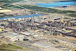 Syncrude Canada Ltd's Mildred Lake Plant, Alberta, Canada    Stock Photo - Premium Rights-Managed, Artist: Boden/Ledingham, Code: 700-01037491