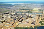 Syncrude Canada Ltd's Mildred Lake Plant, Alberta, Canada    Stock Photo - Premium Rights-Managed, Artist: Boden/Ledingham, Code: 700-01037493