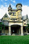 Front view of Stohlmeyer's Castle Port of Spain, Trinidad, Caribbean