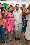 Couple Dancing at Family Gathering    Stock Photo - Premium Rights-Managed, Artist: Tim Mantoani, Code: 700-01041248