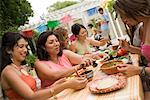 Women Preparing Food at Family Gathering    Stock Photo - Premium Rights-Managed, Artist: Tim Mantoani, Code: 700-01041270