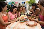 Women Preparing Food at Family Gathering    Stock Photo - Premium Rights-Managed, Artist: Tim Mantoani, Code: 700-01041315