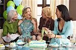 Women Celebrating Birthday    Stock Photo - Premium Royalty-Free, Artist: Masterfile, Code: 600-01041821