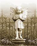 Angel Statue    Stock Photo - Premium Rights-Managed, Artist: Nora Good, Code: 700-01043131