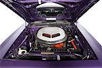 Engine of 1970 Plymouth Cuda    Stock Photo - Premium Rights-Managed, Artist: Michael Mahovlich, Code: 700-01043424