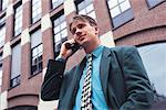 man, telephoning Stock Photo - Premium Royalty-Free, Artist: mocker, Code: 618-01048529