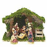 Close up view of the nativity Stock Photo - Premium Royalty-Free, Artist: Masterfile, Code: 627-01064362