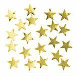 Close up of gold stars Stock Photo - Premium Royalty-Free, Artist: homestudio                    , Code: 627-01065672