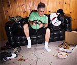 Man Playing Video Games    Stock Photo - Premium Rights-Managed, Artist: Push Pictures, Code: 700-01072461