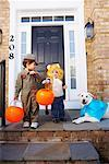 Children in Halloween Costumes    Stock Photo - Premium Rights-Managed, Artist: Artiga Photo, Code: 700-01073764