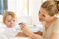 Mother Feeding Daughter    Stock Photo - Premium Rights-Managednull, Code: 700-01084099