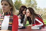 Women Gossiping    Stock Photo - Premium Rights-Managed, Artist: Hiep Vu, Code: 700-01111213