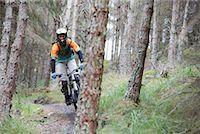 Mountain Biker    Stock Photo - Premium Rights-Managednull, Code: 700-01111803