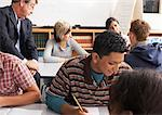Students in Classroom    Stock Photo - Premium Royalty-Free, Artist: Masterfile, Code: 600-01112275