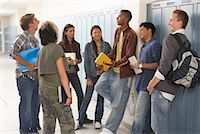 student fighting - Students Talking in Hallway    Stock Photo - Premium Royalty-Freenull, Code: 600-01112325