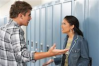 student fighting - Couple Fighting at School    Stock Photo - Premium Royalty-Freenull, Code: 600-01112356