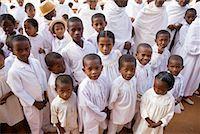 Children in White Clothing in Street, Soatanana, Madagascar    Stock Photo - Premium Rights-Managednull, Code: 700-01112712