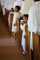Children in Church Pews, Soatanana, Madagascar    Stock Photo - Premium Rights-Managednull, Code: 700-01112726