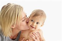 Portrait of Mother and Baby    Stock Photo - Premium Royalty-Freenull, Code: 600-01112878