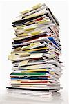 Stack of Paperwork    Stock Photo - Premium Royalty-Free, Artist: Brian Pieters, Code: 600-01120030