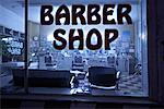 Barber Shop    Stock Photo - Premium Rights-Managed, Artist: Patrick Fordham, Code: 700-01120125
