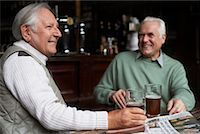Friends in Pub    Stock Photo - Premium Royalty-Freenull, Code: 600-01123741