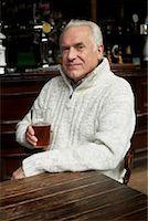 Man Drinking Beer in Pub    Stock Photo - Premium Royalty-Freenull, Code: 600-01123746