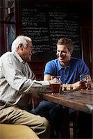 Men in Pub    Stock Photo - Premium Royalty-Freenull, Code: 600-01123749