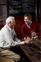 Men in Pub    Stock Photo - Premium Royalty-Freenull, Code: 600-01123751
