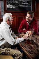 Men in Pub    Stock Photo - Premium Royalty-Freenull, Code: 600-01123752