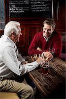 Men in Pub    Stock Photo - Premium Royalty-Freenull, Code: 600-01123753