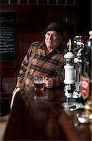 Portrait of Man in Pub    Stock Photo - Premium Royalty-Freenull, Code: 600-01123763