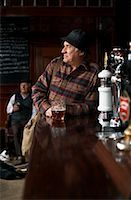 Portrait of Man in Pub    Stock Photo - Premium Royalty-Freenull, Code: 600-01123764
