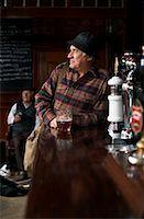 Portrait of Man in Pub    Stock Photo - Premium Royalty-Freenull, Code: 600-01123764